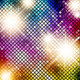 Multicolored Bright Disco Background Stock Photo