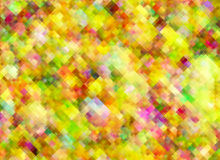 Multicolored bright pixel texture in Chaotic Arrangement Royalty Free Stock Photo
