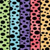 Multicolored Bubble Background. Multi Colored Bubble Striped Background Vector Illustration