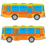 Multicolored bus  #2 Stock Photography