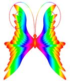 Multicolored butterfly Royalty Free Stock Photo