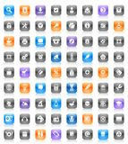 Multicolored buttons Royalty Free Stock Photos