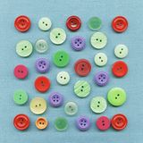 Multicolored buttons Royalty Free Stock Photography