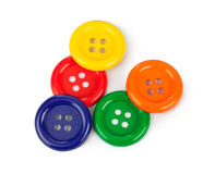 Multicolored buttons Royalty Free Stock Images