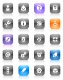 Multicolored buttons miscellaneous Stock Photography