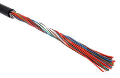 Multicolored cable Royalty Free Stock Photo