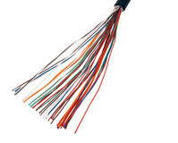 Multicolored cable Royalty Free Stock Image