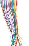 Multicolored cable Royalty Free Stock Photography