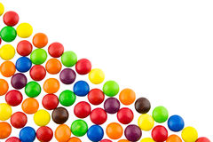 Multicolored candies background. Multicolored sweet candies for background Royalty Free Stock Photography