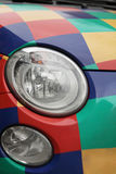 Multicolored car Royalty Free Stock Images