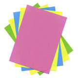 Multicolored cards Stock Photography
