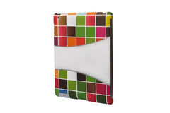 Multicolored Case for Tablet PC Stock Image