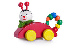 A multicolored caterpillar toy Stock Photo