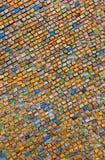 Multicolored ceramiektegelachtergrond Royalty-vrije Stock Foto's