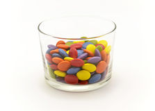 Multicolored chocolate candies Royalty Free Stock Photo