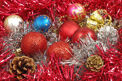 Multicolored christmas balls. Royalty Free Stock Photography
