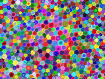 Multicolored circles Stock Photography