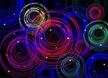 Multicolored circles Stock Photo