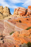 Multicolored cliffs bizarre Royalty Free Stock Images