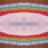 Multicolored Cloth Texture Stock Image