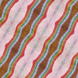 Multicolored Cloth Texture Stock Image