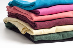 Multicolored clothes Royalty Free Stock Image