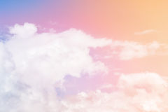 Multicolored Clouds Stock Image