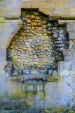 Multicolored Cobblestone wall Stock Image