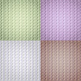 Multicolored collage as abstract background in pastel tone. Stock Photography