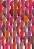 Multicolored color many lipsticks pattern Stock Photo