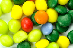 Multicolored confection Stock Images