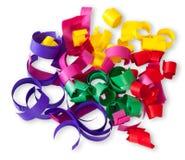 Multicolored Confetti Serpentine Royalty Free Stock Image