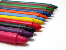 Multicolored crayon Royalty Free Stock Photo