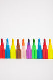 Multicolored crayons Royalty Free Stock Photo