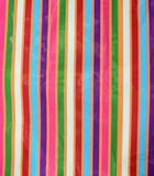 Multicolored crumpled stripe background stock photo