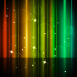 Multicolored Curtains Background Shows Stars And Bubbles Royalty Free Stock Photography