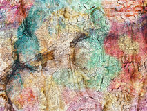 Multicolored decorative abstract background Royalty Free Stock Images