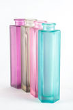Multicolored Decorative Bottles Stock Photo