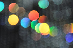Multicolored defocused blurred abstract bokeh lights background, for use at graphic design or background  material. For graphic design or background material Royalty Free Stock Photos