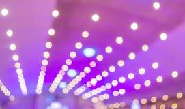 Multicolored defocused bokeh lights background. Blur image of Multicolored defocused bokeh lights background stock illustration