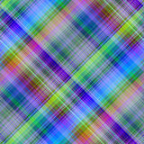Multicolored diagonaal patroon. Stock Foto's