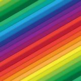 Multicolored diagonal bars Royalty Free Stock Photos