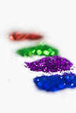 Multicolored diamond dust texture Royalty Free Stock Images
