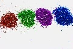 Multicolored diamond dust texture Stock Images