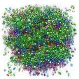 Multicolored diamonds on a white background Stock Image