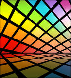 Multicolored Disco Background Stock Images