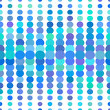 Multicolored dots seamless pattern Royalty Free Stock Photo
