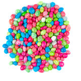 Multicolored dragee drop candy Stock Image