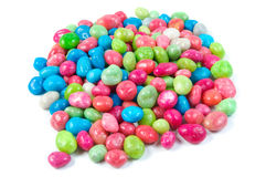 Multicolored dragee drop candy  . Stock Photos