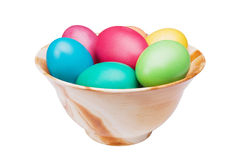 Multicolored Easter eggs Royalty Free Stock Photo